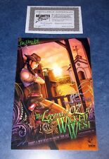 THE LEGEND OF OZ WICKED WEST #1 signed PREVIEW TOM HUTCHINSON COA BGI presents