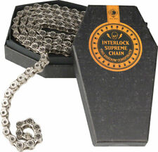 New The Shadow Conspiracy Interlock Supreme Half Link Chain Silver