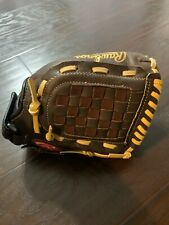 "Rawlings H150Brnc Highlight Series 11.5 "" Brown Rht Exc Glove Mitt New Other"