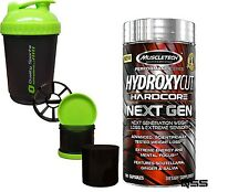 MuscleTech Hydroxycut Hardcore Next Gen Format 100 Capsules Supplements