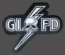 BLACK LABEL SOCIETY MEMBER FAN CLUB G.I.F.D  SKULL LIGHTING  PATCH