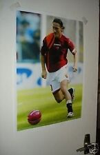 Francesco Totti Italy World Cup Legend Poster #1 Red