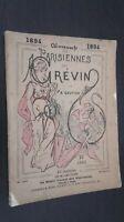 Almanach Las Parisiennes por B.Gautier 1894 Plon-Feeds París Impresión