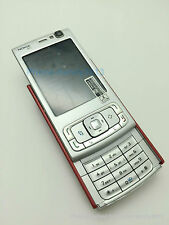 NOKIA N95 Red Unlocked GSM Mobile Cell Phone Bluetooth WIFI Smartphone