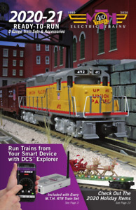 MTH 2020-2021 READY TO RUN TRAIN CATALOG o gauge lionel dealer BOOK NEW 60-1424