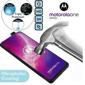 100%Genuine Tempered Glass Screen Protector Moto 1 XT2027 For Motorola One Hyper