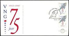 Netherlands 1987 Municiapalities Union FDC #C44221