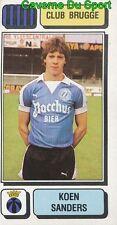 092 KOEN SANDERS BELGIQUE CLUB BRUGGE STICKER FOOTBALL 1983 PANINI