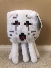 "Minecraft GHAST Buddy Pillow Plush 15"" White Ghost Stuffed Animal Game"