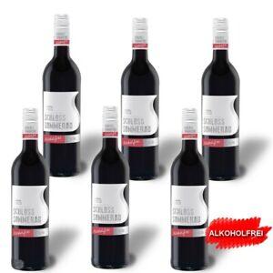 6 x 75 cl Alkoholfreier Rotwein Cuvée Rot <0,5% vol Schloss Sommerau