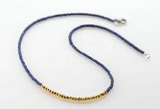 Halsketten und Anhänger aus Edelsteinen mit Lapis Lazuli natürliche gefärbte
