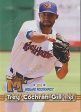 2018 Midland RockHounds Trey Cochran Gill RC Rookie Oakland Athletics