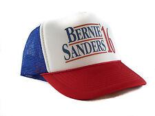 Bernie Sanders for President Trucker Hat mesh hat snapback hat red white blue