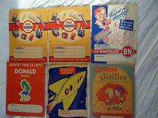 lot 6 Protège-cahiers anciens publicitaires années 1950-60 en  état neuf -lot 3
