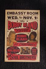 Bobby Bland 1967 Tour Poster East Palo California