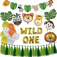 Baby Shower Animal Balloons Birthday Jungle Party Safari Decor Kid Child Cartoon