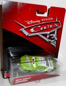 CARS 3 - BRICK YARDLEY - ViTOLINE 24 Disney Pixar Cars auto Mattel 1:55 scale