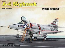 20036/Squadron Signal-Walk Around 41-a-4 SKYHAWK-Libretto di tabulazione