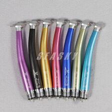 NSK Style Luxury Turbina Dental High Speed Handpiece 4 Hole Dentista Rainbow frs
