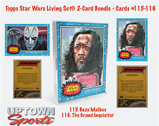 Topps Star Wars Living Set 2-Card Bundle  Cards 115-116 - Baze Malbus Inquisitor