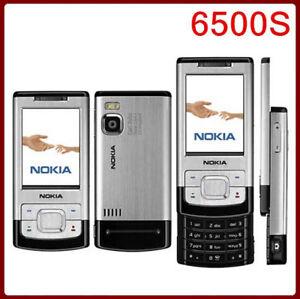 6500S Original Nokia 6500 slide 3G 850 2100 Long Stand-by Slider Mobilephone