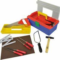 PEBARO Werkzeug-Set 11-teilig für Hobby und Schule