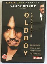 Oldboy (DVD, 2007) Tartan Asia Extreme, Korean Language With English Subtitles