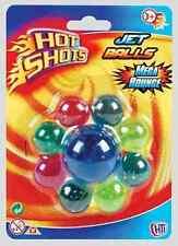 Hot Shots Jet Balls Mega Bounce Power Balls 9 Ball Set [Ages 3+] *BRAND NEW*