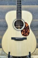 Boucher SG-51-C Studio Goose OM Hybrid Natural Acoustic Electric Guitar w/Case