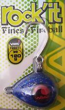 "Waves KABURA Shape Lure Finest Fireball ""rock'it"" 120gr 3/0 Color Blue Glitter"