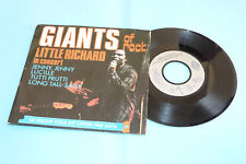"DISQUE 45 T. PUB AGFA ""GIANTS OF ROCK""  LITTLE RICHARD & CARL PERKINS, CBS 12148"