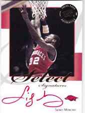 2008-09 Press Pass Legends Select Signatures #SM2 Sidney Moncrief  RED /51*!