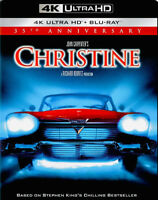 Christine (1983) 4K ULTRA HD & Blu-Ray (HORROR) (Stephen King) (NEW) Region Free