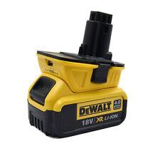 Nouveau DCA1820 Dewalt Slide Batterie Adaptateur Avec USB 20 V Batterie Convertisseur pour 18 V 2017