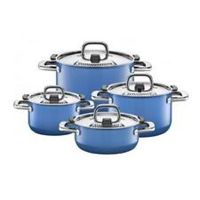 Silit Nature Blue Topfset 4 tlg. Silargan Induktion blau Funktionsdeckel Set