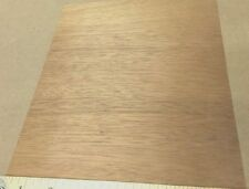 "African Mahogany wood veneer 9"" x 7"" on paper backer ""A"" grade quality 1/40th"""