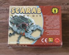 ELENCO 21-884 SCARAB ROBOT DIY KIT (solder version) Ages 13+***SPECIAL***