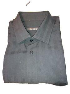 Chemise homme Brice noire taille L , parfait état