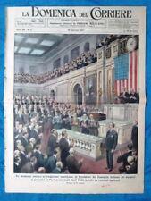 La Domenica del Corriere 19 gennaio 1947 De Gasperi USA - Nozze Asti - Garibaldi