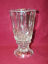 BLOCK CRYSTAL - OLYMPIC Pattern - VOTIVE CANDLE HOLDER