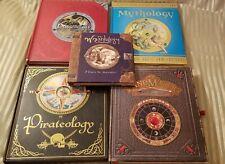 5 Hc Books Wizardology, Pirateology, Dragonology, Mythology, Wandmaker