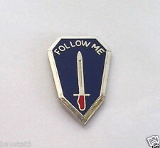 Follow Me Us Army Infantry School Military Veteran Hat Pin 14872 Ho