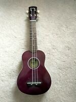 Hola! Music Ukulele Purple HM-21PP Soprano-  No Accessories