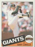 FREE SHIPPING-MINT-1985 Topps #462 Gary Lavelle Giants PLUS BONUS CARDS