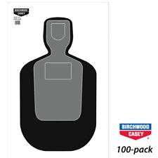 "Birchwood Casey EZ-Scorer TQ-19 Silhouette 24""x42"" Targets (100PK)"