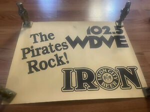 lot of 2 vintage pittsburgh pirates posters Baseball MLB Iron City Beer
