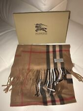 Classic Authentic Burberry Unisex Cashmere Scarf