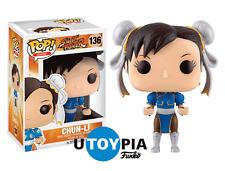 FUNKO POP! VINYL STREET FIGHTER: Chung-Li No. 136 (FUN11653) - STOCK IN HAND