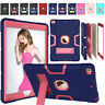 """Rubber Hard Stand Shockproof Case For Apple iPad 7th Generation 2019 10.2"""" Cover"""