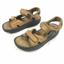 MBT Leather Toning Sandals - Men's Size US 7 / EU 40